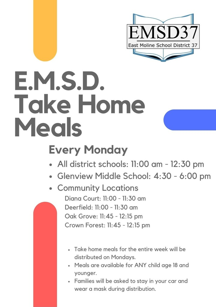 EMSD Food Distribution Flyer